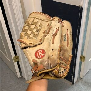 Old used glove